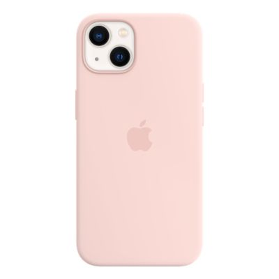 Apple Silicone Case with MagSafe for iPhone 13 - Chalk Pink