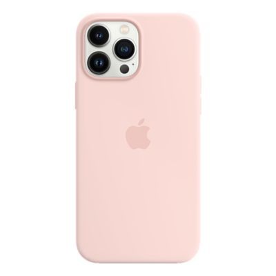 Apple Silicone Case with MagSafe for iPhone 13 Pro Max - Chalk Pink