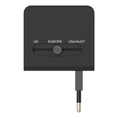 GoTo™ International Adapter - Black R2
