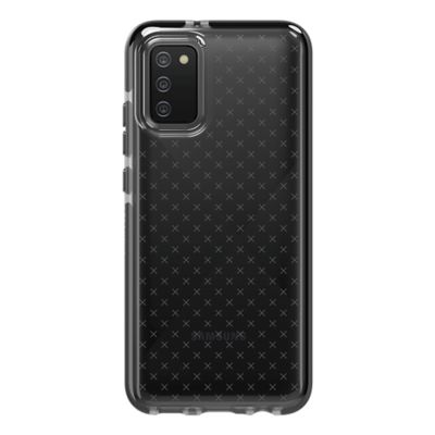 Tech21 Evo Check Case for Samsung Galaxy A02s - Smokey/Black