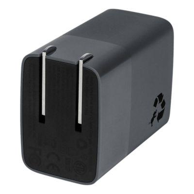 Nimble Eco-Friendly Wally Mini+ 30W PD Wall Charger - Charcoal Grey