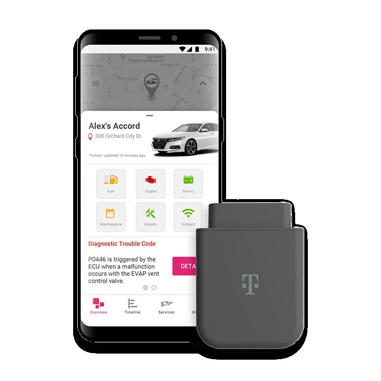 El SyncUP Drive de T-Mobile