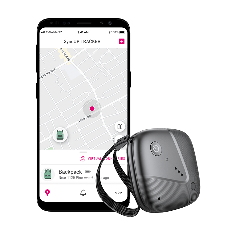 El SyncUP Tracker de T-Mobile