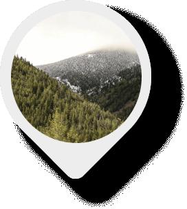 Homestake Pass map pin