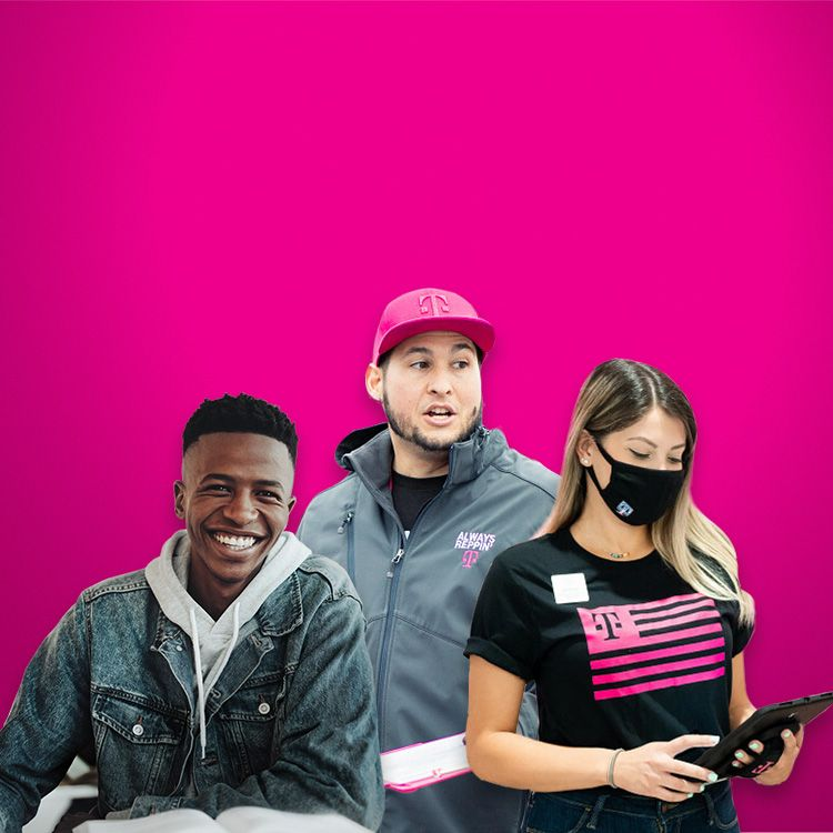 Empleado, voluntario y participante de un programa de T-Mobile: algunas de las caras de nuestras acciones de responsabilidad corporativa.