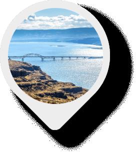 Vantage Bridge map pin